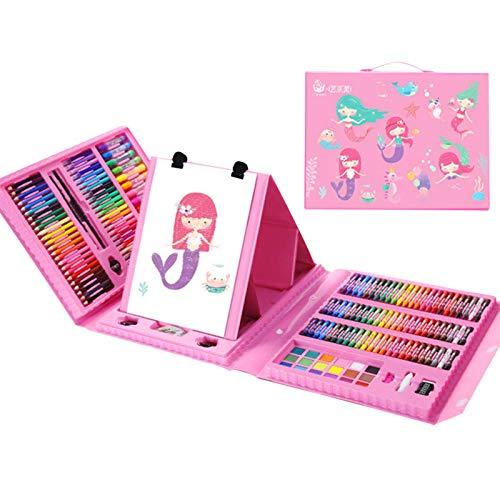 xingling Kit De Peinture pour Enfants, Kit De Peinture pour Enfants pour Le Dessin, Kit De Démarrage De Fournitures Artistiques Non Toxiques Et Inoffensives pour Enfants Et Adultes
