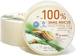 [3W CLINIC] カタツムリ粘液スージングジェル300g / Snail Mucus Soothing Gel 300g / 水分/オールスキンタイプ / Moisture / fresh and smooth / All Skin Types / 韓国化粧品 / Korean Cosmetics [並行輸入品]