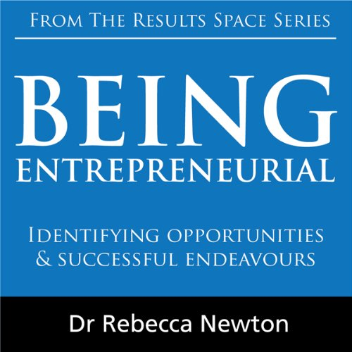 Being Entrepreneurial cover art