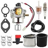 Mannial 42 853 03-S Carburetor Carb fit Kohler CV13 CV14 CV15 CV15S CV16 CV16S Engine 12-853-56 12-853-81 12-853-94-S 12-853-93-S with Gasket kit