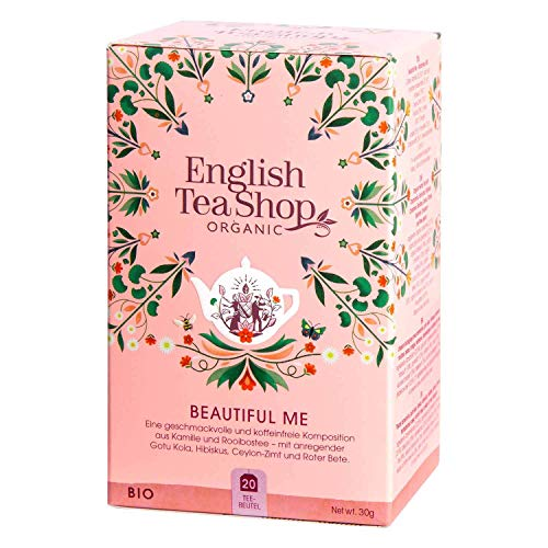 English Tea Shop - Beautiful Me, BIO Wellness-Tee, 20 Teebeutel