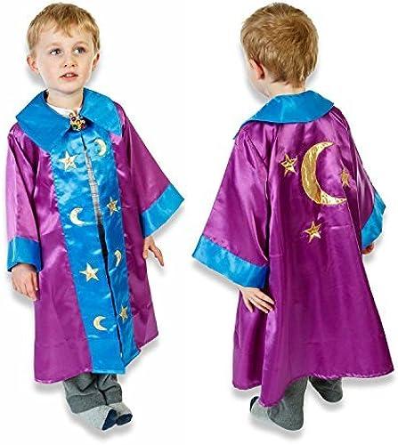 Sin impuestos Kids Boys WIZARD Fancy Dress Cloak COSTUME (3 - 8 8 8 Years) SLIMY TOAD by Slimy Toad  autorización