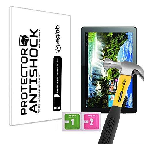 Protector de Pantalla Anti-Shock Anti-Golpe Anti-arañazos Compatible con Tablet Storex eZee Tab 10O10-S