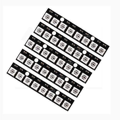 8 Kanäle WS2812 WS2812B 5050 RGB 8-Bit Lichtleiste für Arduino – 5 Stück