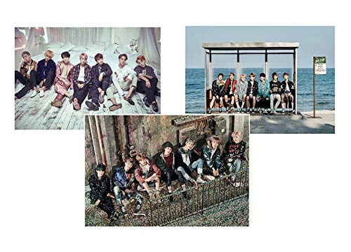 BTS BANGTAN BOYS - You Never Walk Alone [LEFT + RIGHT + WINGS] 3 POSTERS(11.7 X 16.5 inch)