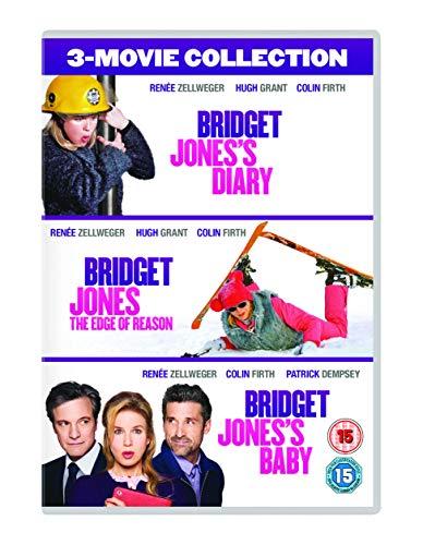 Bridget Jones 3-Film Collection (Bridget Jones's Diary/Bridget Jones: The Edge Of Reason/Bridget Jones's Baby) [DVD + Digital Download] [2016] UK-Import, Sprache-Englisch