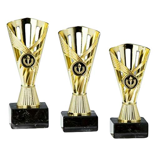 RaRu Bowling-Pokal mit Gravur (Einzelpokal oder 3er-Serie) (3er-Serie)
