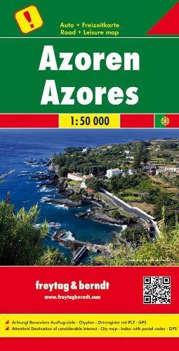 F&B Azoren: Toeristische wegenkaart 1:50 000