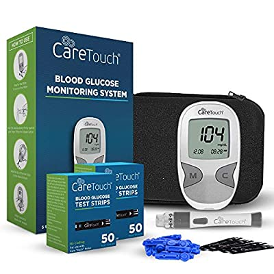 Care Touch Diabetes Testing Kit with Strips