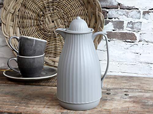 Chic Antique ° Caraffa termica ° Caraffa termica romantica rustica color crema ° caraffa grande 1 litro grigio 61603-25