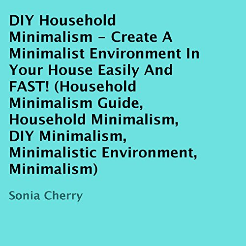 DIY Household Minimalism audiobook cover art