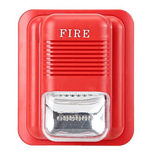 Tosuny Estación de extracción Manual de acción única, Sonido y luz Protección contra Incendios Alarma Advertencia Strobe Siren Alert Sistema de Seguridad