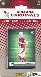 Arizona Cardinals 2018 Panini NFL Football Factory Sealed Limited Edition 13 Card Complete Team Set with CANVAS Rookie of JOSH ROSEN & David Johnson, Larry Fitzgerald, Adrian Peterson & More! WOWZZER