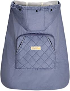 4pc schwarz Kinderwagen Regenschirm Staub Rad Abdeckung Oxford Tuch Anti-Schmutz-H/ülse