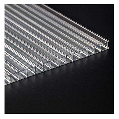 YJSMB 5mm Paneles de Policarbonato, Transparente Hoja De Metacrilato Modular Lámina Invernaderos...
