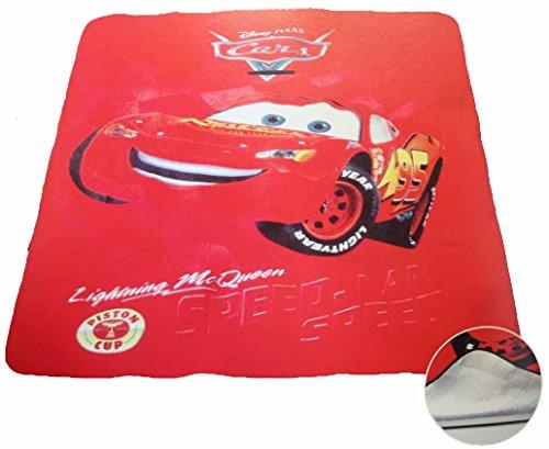 Emanhu Trading Disney Kinder Picknickdecke ca. 130x150cm mit Alu-Beschichtung vers. Motive (Cars)