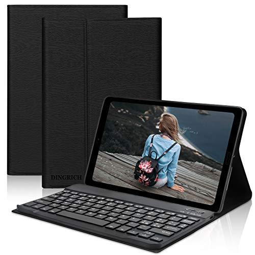 D DINGRICH Tastiera Custodia per Samsung Galaxy Tab A 10.1 2019 T515/T510, Protettiva Cover con Tastiera [Layout Italiano é.ç .§] Rimovibile Magneticamente per Galaxy Tab A 10.1 Zoll 2019
