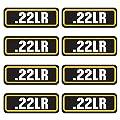 AZ House of Graphics 22LR Ammo Sticker 8 Pack