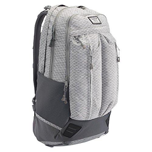 Burton Daypack BRAVO, gry hthr dimnd rpstp, 54 x 31.5 x 15 cm