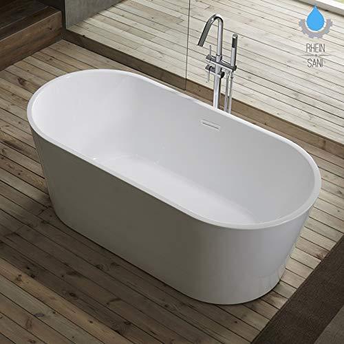Freistehende Badewanne Wanne Standbadewanne Duschen Pool Bad Dusche Baden 170x80