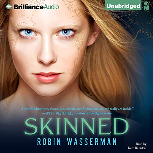 Skinned audiobook cover art