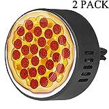 Eslifey Pizza Italiana con rodajas de Pepperoni difusor de Aire para Coche, aromaterapia, difusor de aceites Esenciales, Fruta de la pasión