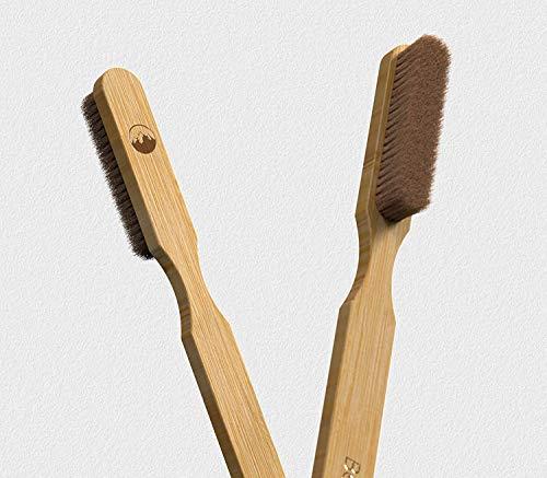 Beta Brush® - Boulder- & Kletterbürste aus Holz, Bürste fürs Klettern & Bouldern - aus langlebigem Bambus Holz - Premium...
