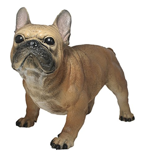 colourliving Dekofigur Hund Französische Bulldogge Alain Tierfigur Skulptur Haushund