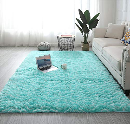 Rugs for Living Room, Fluffy Shaggy Super soft Carpet Suitable as Bedroom Rug Home Decor Nursery Rugs Kids Mat,G,100 * 200