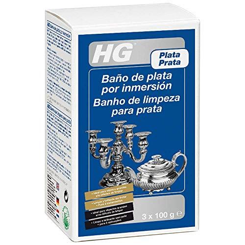 HG Baño plata por immersión 300gr - es un efectivo limpiador de...