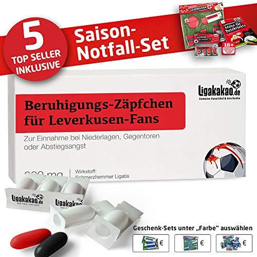 Kaffee-Becher ist jetzt das GROßE Saison Notfall Set für Bayer-Fans by Ligakakao.de