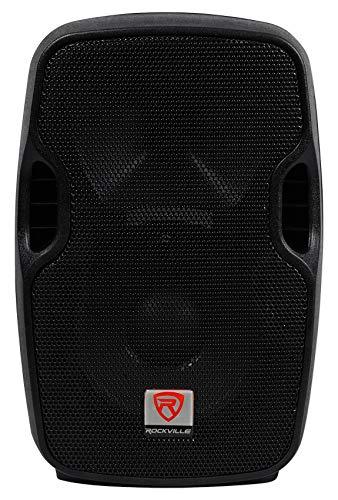 Rockville BPA8 8' Professional Powered Active 300w DJ PA Speaker w Bluetooth