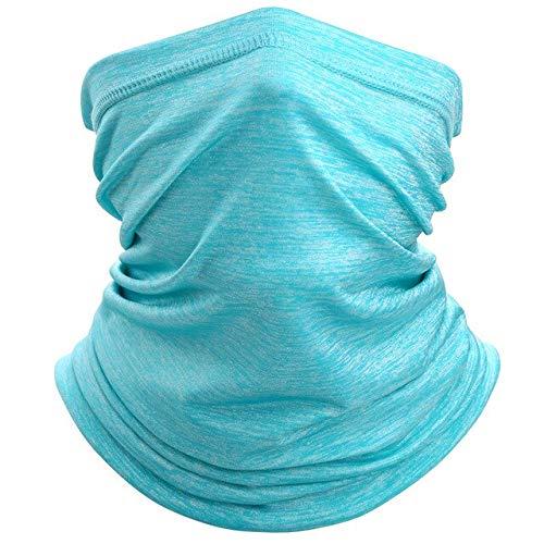 Breathable Neck Gaiter Tube Scarf Bandana Soft Stretch Half Face Cover Elastic Quick Dry HeadbandScarves Women Men - LY-A-05