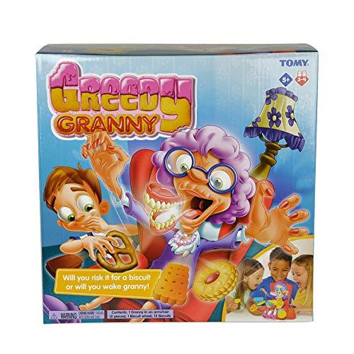 TOMY Greedy Granny, Gioco d'azione per Bambini in età prescolare.