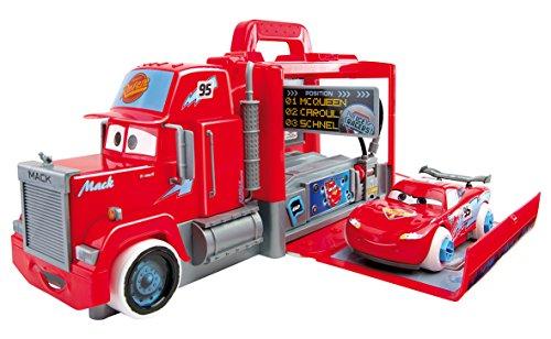 Smoby - 360135 - Cars - Carbone Mack Truck - Mack Truck Simulator + Acessoires et Voiture Flash Mc Queen - + Piles Incluses