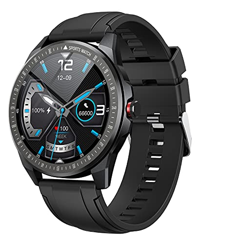 Vigorun Smart Watch Fitness Tracker with Heart Rate Monitor Blood Oxygen Sleep Tracker for Android Phones, IP68 Waterproof Smart Watch with Music Control for Men Women Compatible with iPhone Samsung