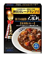 S&B 神田カレーグランプリ お茶の水、大勝軒 復刻版カレー お店の中辛 180g×2個