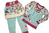Mädchenshirt mit Rock und Leggin Gr. 98/104,Unikat,Handmade