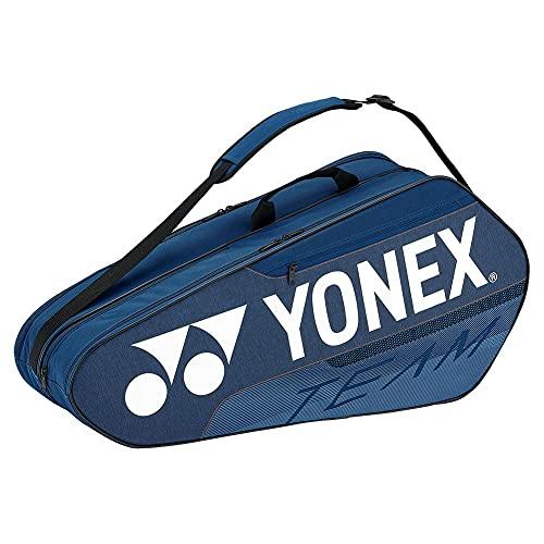YONEX Team Racquet 6 Pack Tennis Bag (Deep Blue)