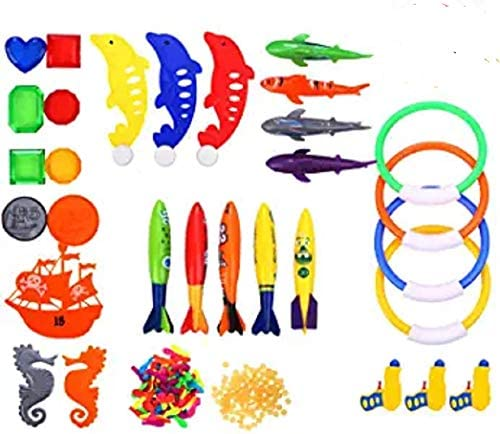 Richard Woods 130 Pack Swimming Set Toys Free Shipping New Underwater Include Toy Max 88% OFF