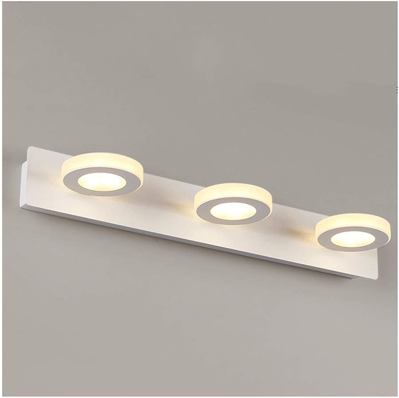William 337 Spiegel Frontleuchte LED Wandleuchte Wohnzimmer Badezimmer Lampe Feuchtigkeitsfest Acryl Spiegel Schrank Lampe Dressing Licht 3 4 Lichtquelle [Energieklasse A +]