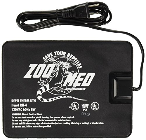 Zoomed Reptitherm Undertank Heater 10-20Gal 6X8