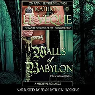 Walls of Babylon: De Wolfe Pack/Great Lords of le Bec audiobook cover art