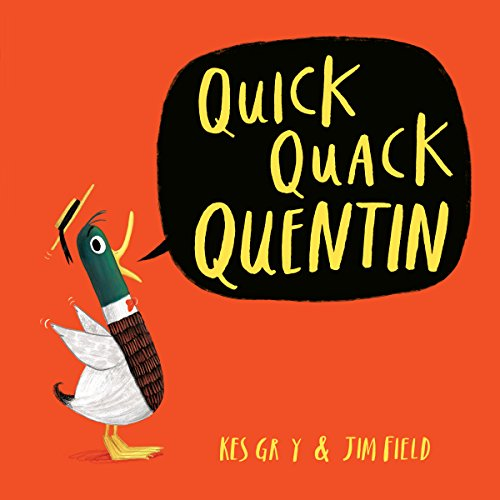 Quick Quack Quentin audiobook cover art