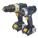 GMC 436020 - Taladro combinado y atornillador de impacto 18 V (GTPCDID18)