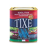 TIXE 105601 Geltix Smalto Gel Antiruggine, Batik, Bianco Lucido, 9.5 x 9.5 x 10 cm, 750 ml