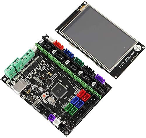 Auoeer MKS GEN L Motherboard+3.5 Inch LCD WiFi Touch Screen Kit for 3D Printer Module Board
