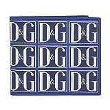 [ドルチェ&ガッバーナ] メンズ 財布 DAUPHINE ドーフィン カーフ レザー ブルー DG GRAFICO F.BLU BP1321 AZ281 HBY43 [並行輸入品]