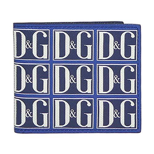 DOLCE&GABBANA『DauphineカーフレザーDGGRAFICOF.BLU(BP1321AZ281HBY43)』