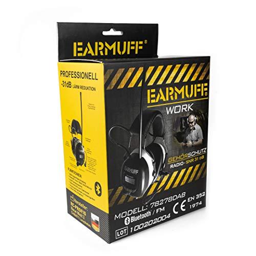 3M BLUETOOTH SNR 24db Digital Radio Gehörschutz Kopfhörer - 7